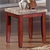 Steve Silver Company Montibello Marble End Table