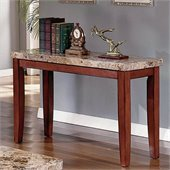 Steve Silver Company Montibello Marble Sofa Table