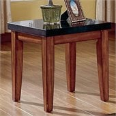 Steve Silver Company Montibello Granite Top End Table