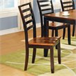 ADD TO YOUR SET: Steve Silver Company Abaco Wood Dining Side Chair in Acacia Finish