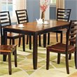 ADD TO YOUR SET: Steve Silver Company Abaco Rectangular Casual Dining Table in Acacia Finish