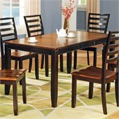 Steve Silver Company Abaco Rectangular Casual Dining Table in Acacia Finish