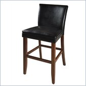 Steve Silver Company Serena Bar Parsons Chair in Black