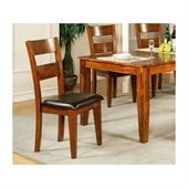 Steve Silver Company Mango Side Chair in Light Oak