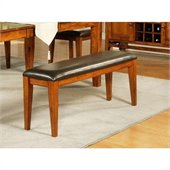 Steve Silver Company Mango Bench in Light Oak