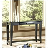 Steve Silver Company Hamilton Sofa Table in Black