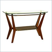 Steve Silver Company Saxony Glass Top  Sofa Table