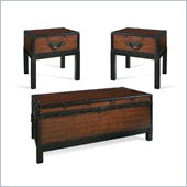 Steve Silver Company Voyage 3 Piece Coffee Table Set