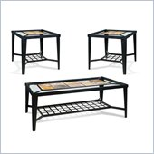 Steve Silver Company Cirrus 3 Piece Coffee Table Set