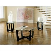 Steve Silver Company Matinee 3 Piece Coffee Table Set