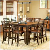Steve Silver Company Abaco 7 Piece Counter Height Dining Set (Free Chair Included)
