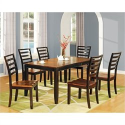 Steve Silver Company Abaco 7 Piece Rectangular Dining Set