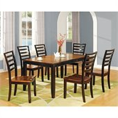 Steve Silver Company Abaco 7 Piece Rectangular Dining Set (Free Chair Included)