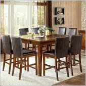 Steve Silver Company Davenport 7 Piece Counter Height Dining Set (Free Chair Included)