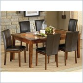 Steve Silver Company Davenport 7 Piece Dining Set (Free Chair Included)
