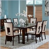 Steve Silver Company Delano 7 Piece Dining Set (Free Chair Included)