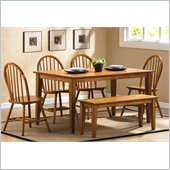 Steve Silver Company Landon 7 Piece Dining Set (Free Chair Included)