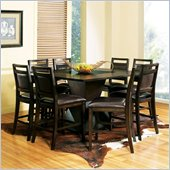 Steve Silver Company Malbec 7 Piece Counter Height Dining Set (Free Chair Included)