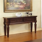 Steve Silver Company Davina Sofa Table in Rich Cherry Finish