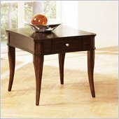 Steve Silver Company Marseille End Table in Poplar
