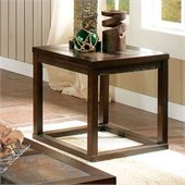 Steve Silver Company Alberto End Table in Cherry Finish