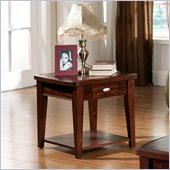 Steve Silver Company Huntington End Table in Cherry