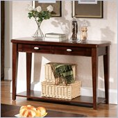 Steve Silver Company Huntington Sofa Table in Cherry