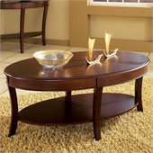 Steve Silver Company Troy Cocktail Table in Cherry Finish
