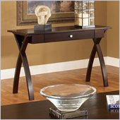 Steve Silver Company Sao Paulo Sofa Table in Dark Cherry Finish