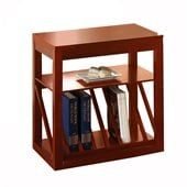 Steve Silver Company Jameson Chairside End Table in Oak Finish