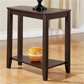 Steve Silver Company Joel Chairside End Table in Cherry Finish