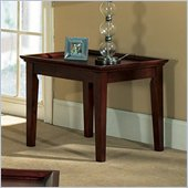 Steve Silver Company Clemens End Table in Cherry Finish