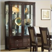 Steve Silver Company Wilson China Cabinet in Espresso