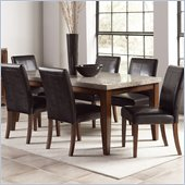 Steve Silver Company Clayton Dining Table in Light Cherry