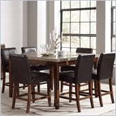 Steve Silver Company Clayton Counter Height Dining Table in Cherry