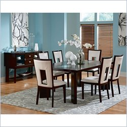Steve Silver Company Delano 8 Piece Dining Set