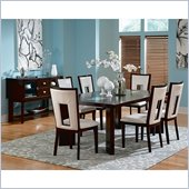 Steve Silver Company Delano 8 Piece Dining Set (Free Chair Included)