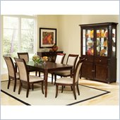 Steve Silver Company Marseille 10 Piece Dining Set (Free Chair Included)