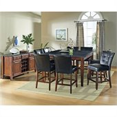 Steve Silver Company Granite Bello 10 Piece Counter Height Dining Set (Free Chair Included)