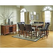 Steve Silver Company Montibello 10 Piece Counter Height Dining Set (Free Chair Included)