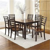 Steve Silver Company Abaco 8 Piece Dining Set (Free Chair Included)