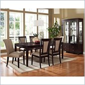 Steve Silver Company Wilson 8 Piece Dining Set (Free Chair Included)