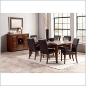 Steve Silver Company Clayton 8 Piece Dining Set (Free Chair Included)