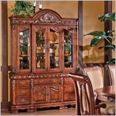 Steve Silver Company Harmony Buffet with Hutch in Multi-Step Rich Cherry