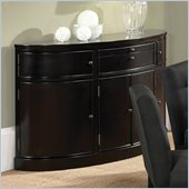 Steve Silver Company Maurice Sideboard in Sleek Black
