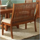 Steve Silver Company Tulsa Bench in Oak Finish