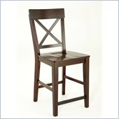 Steve Silver Company Gibson X-Back Counter Dining Chair