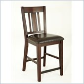 Steve Silver Company Gibson Straight Back Upholstered Counter Dining Chair