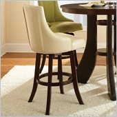 Steve Silver Company Brooks Swivel Bar Stool in Taupe