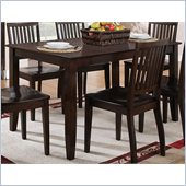 Steve Silver Company Candice Rectangular Dining Table in Dark Espresso